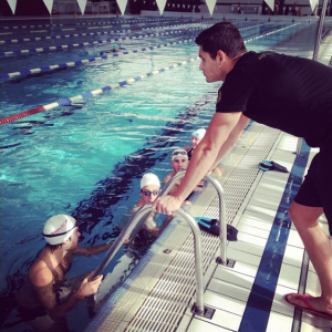 Coaching de natation Florent Manaudou